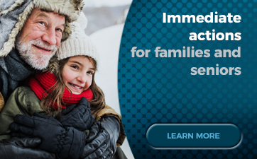 Immediate actions for families and seniors - Update on Québec's Economic and Financial Situation – Fall 2018